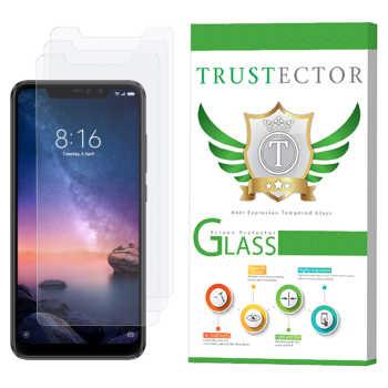 محافظ صفحه نمایش تراستکتور مدل GLS مناسب برای گوشی موبایل شیائومی  Redmi Note 6 Pro بسته 3 عددی
