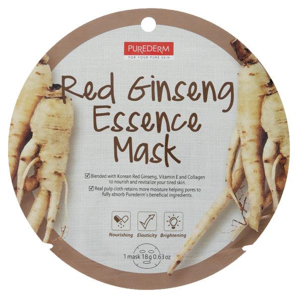 ماسک صورت پیوردرم مدل Red Ginseng مقدار 18 گرم