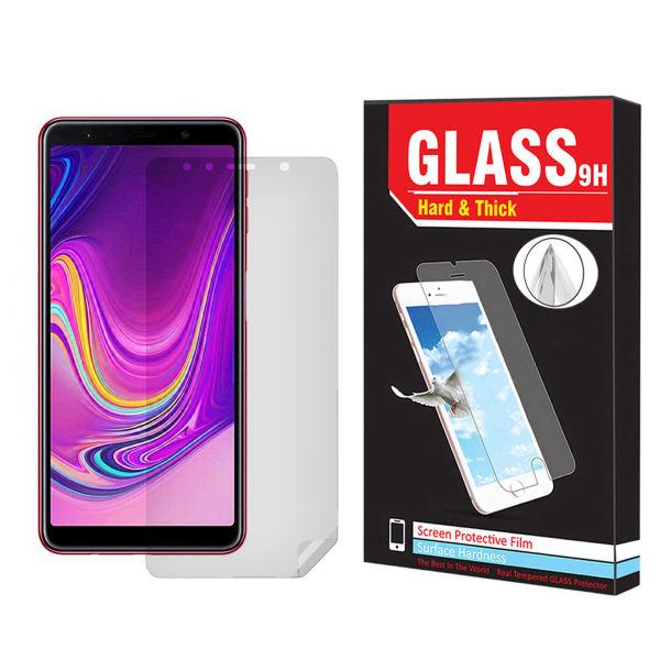 محافظ صفحه نمایش Hard and thick مدل tp-1 مناسب برای گوشی موبایل سامسونگ Galaxy A7 2018