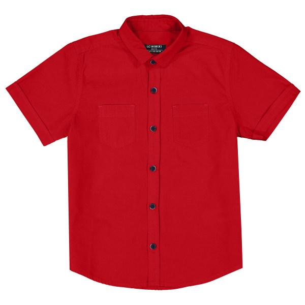 پیراهن پسرانه ال سی وایکیکی مدل 0S0546F4-GZL