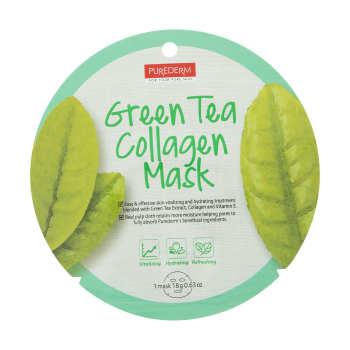 ماسک صورت پیوردرم مدل Green Tea مقدار 18 گرم