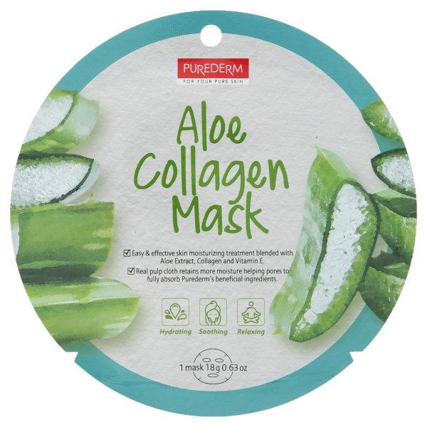 ماسک صورت پیوردرم مدل Aloe مقدار 18 گرم