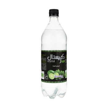 نوشابه گازدار لیمو نعناع کریستال - 1 لیتر