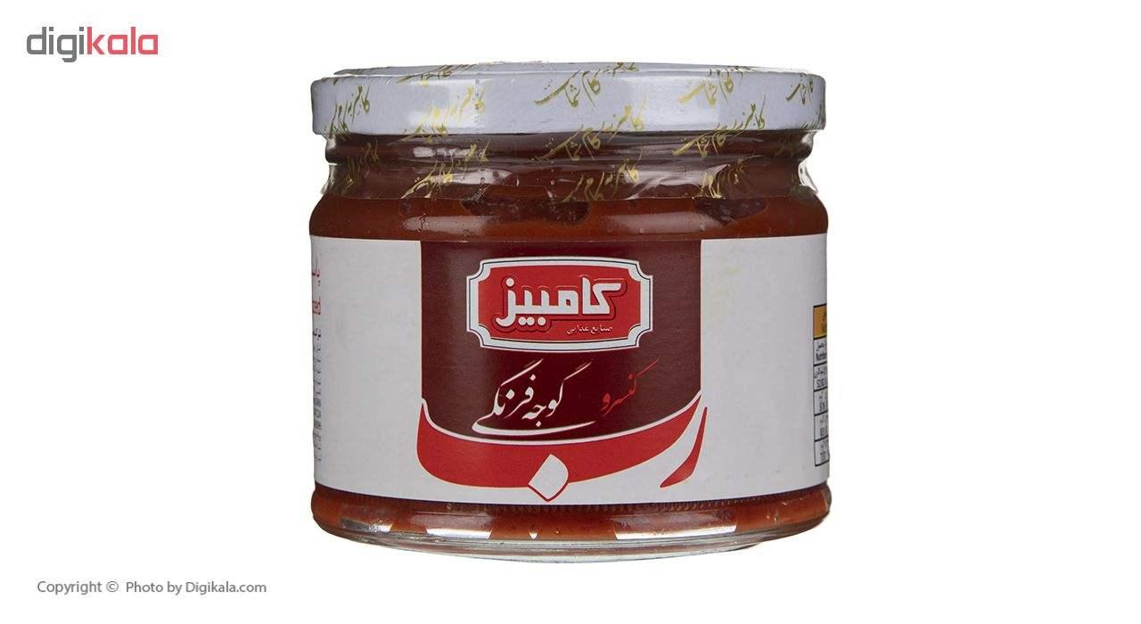 کنسرو رب گوجه فرنگی کامبیز 350 گرم main 1 1