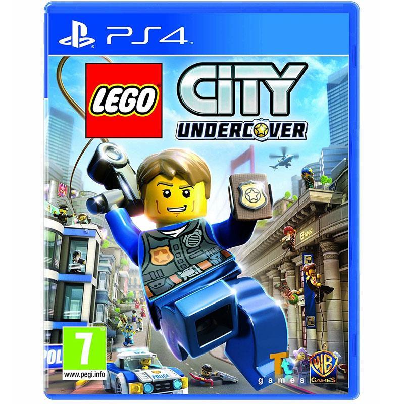 بازی Lego City Undercover مخصوص PS4