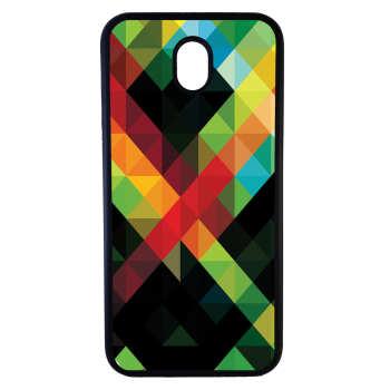 کاور طرح رنگارنگ کد 1105408606 مناسب برای گوشی موبایل سامسونگ galaxy j7 pro