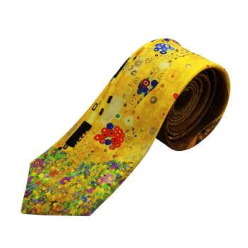 کراوات مردانه طرح نقاشی گوستاو