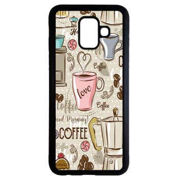 کاور طرح قهوه کد 1105408693 مناسب برای گوشی موبایل سامسونگ galaxy j6 2018 thumb