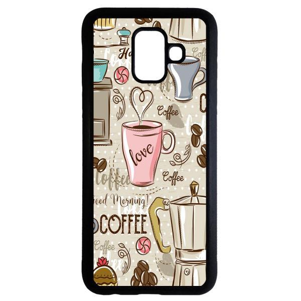 کاور طرح قهوه کد 1105408693 مناسب برای گوشی موبایل سامسونگ galaxy j6 2018