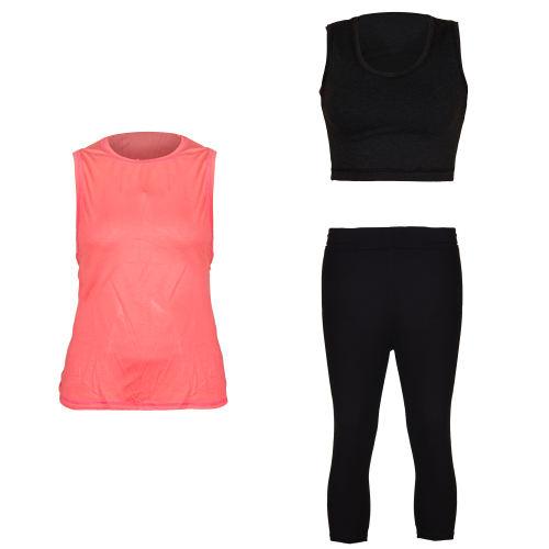 ست 3 تکه لباس ورزشی زنانه مدل Runlili 021