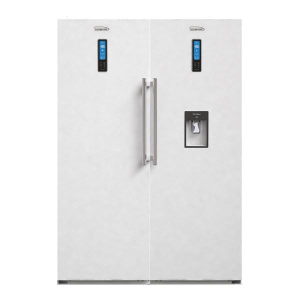 یخچال و فریزر دو قلو الکترواستیل مدل ES24