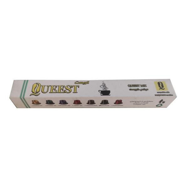 کپسول قهوه کوئست مدل Queest Mix بسته 10 عددی