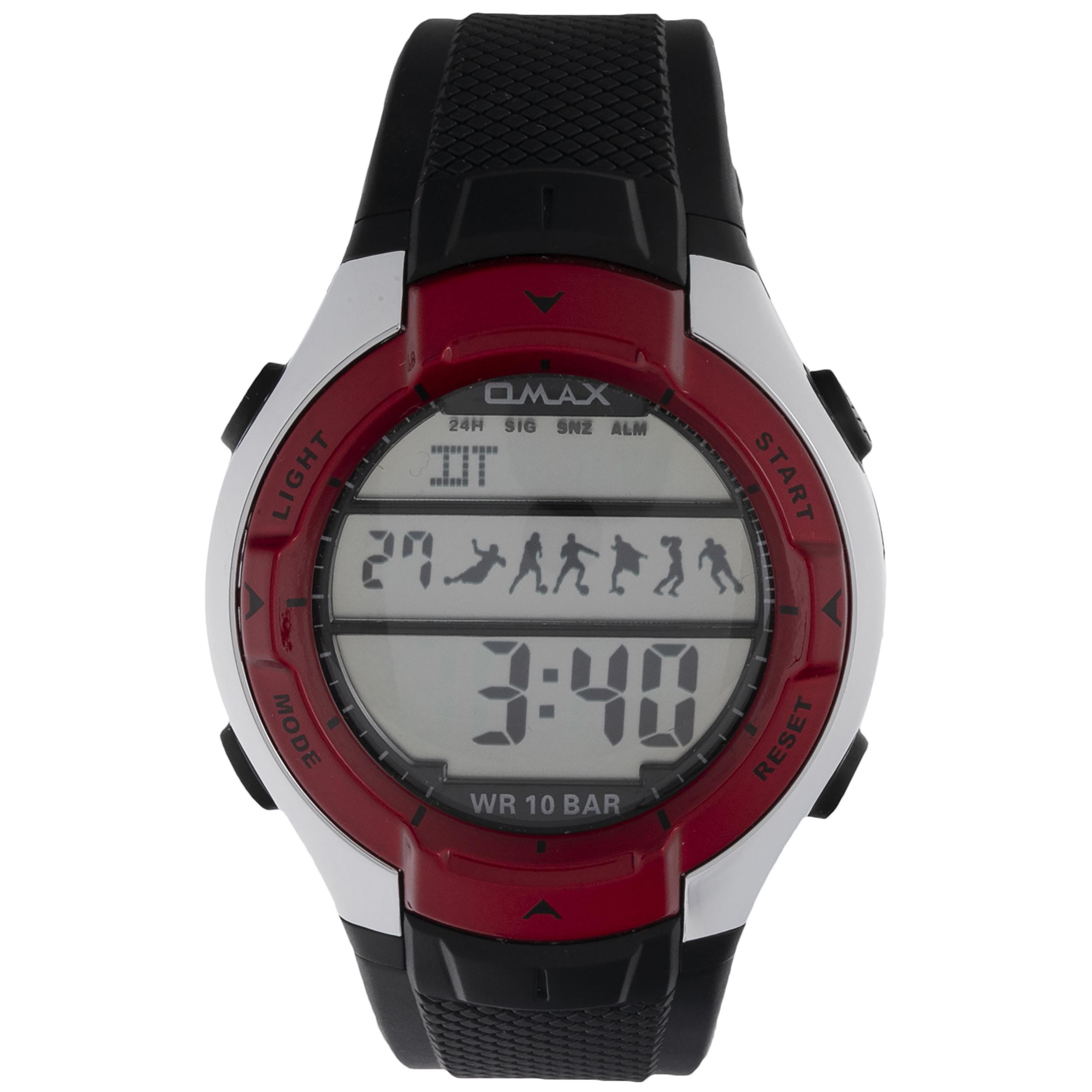 ساعت مچی دیجیتال زنانه مدل QMAX HA 08