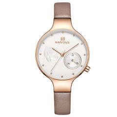 ساعت مچی عقربه ای زنانه نیوی فورس مدل NF5001RG