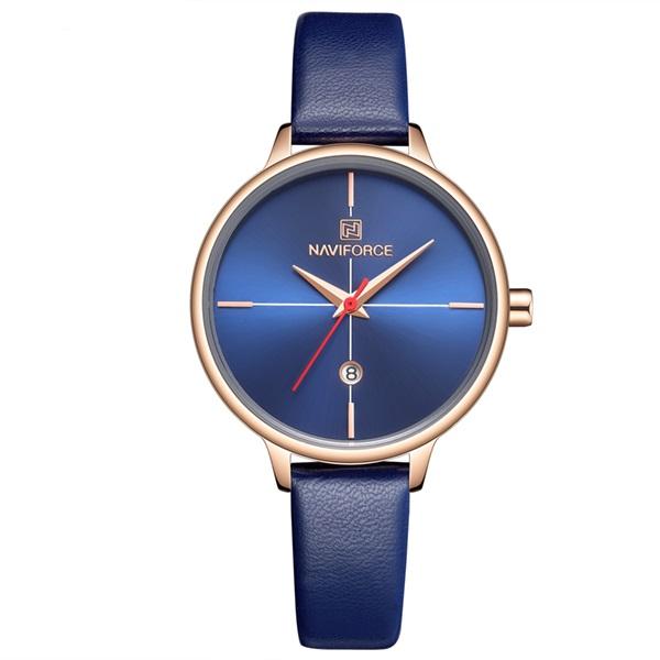 ساعت مچی عقربه ای زنانه نیوی فورس مدل NF5006/BLU