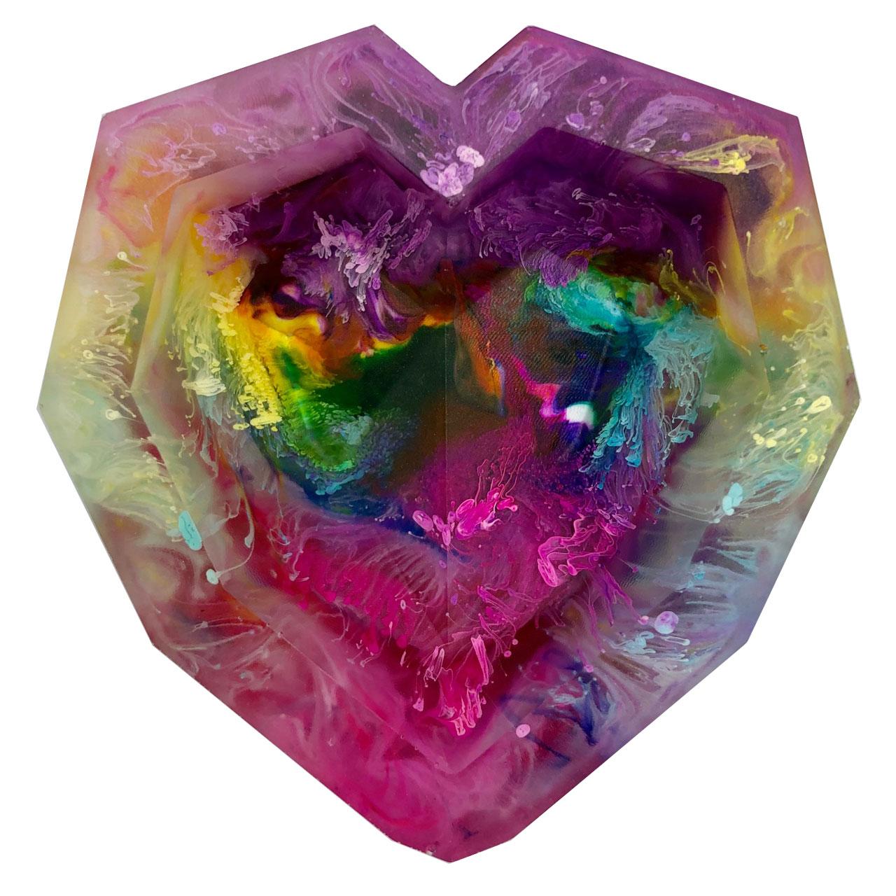 جعبه جواهرات طرح قلب کد 1010