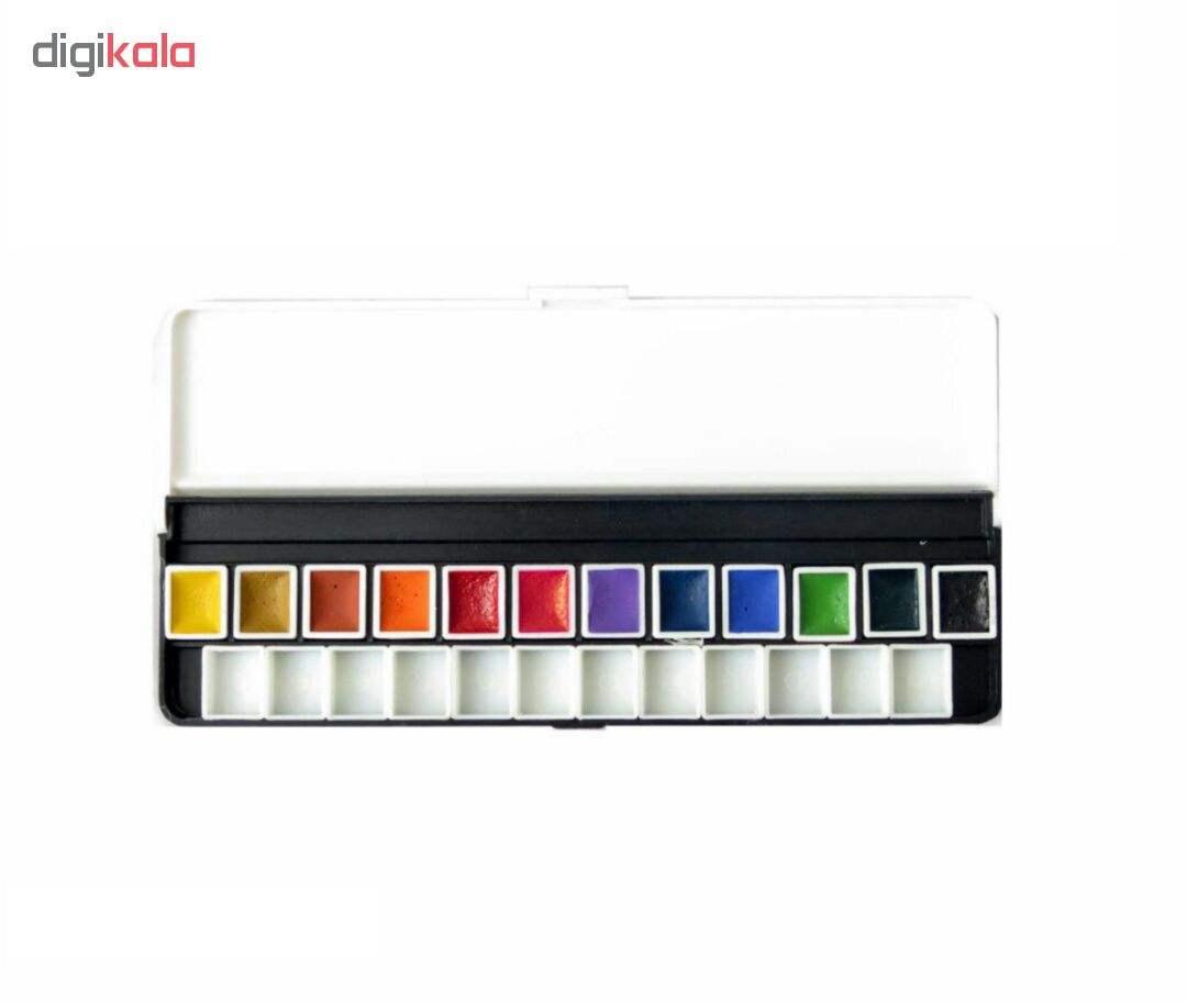 آبرنگ 12 رنگ آقامیری مدل 001 thumb 1