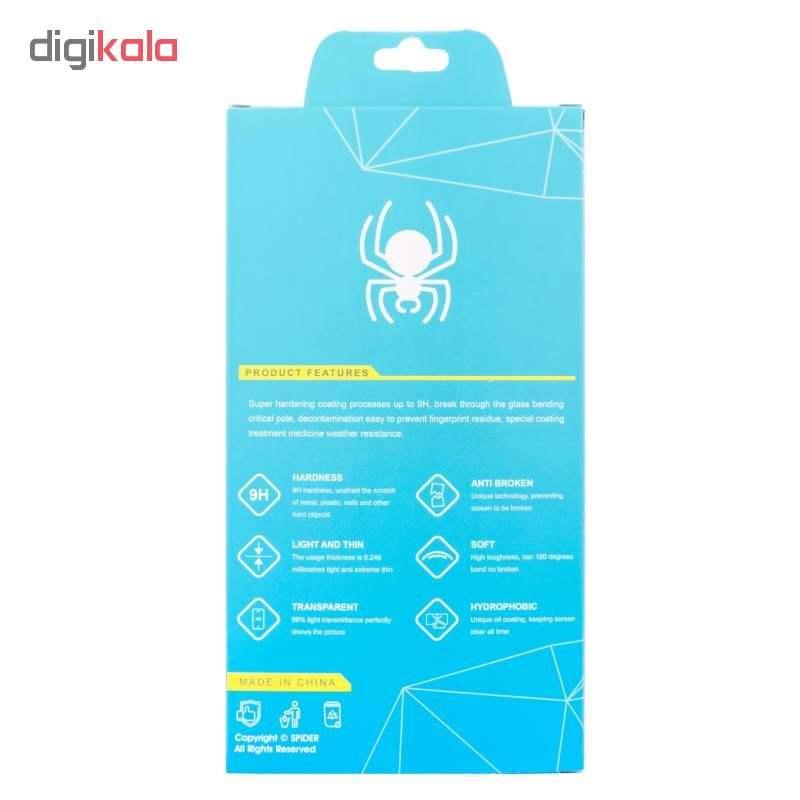 محافظ صفحه نمایش 6D اسپایدر مدل Pro مناسب برای گوشی موبایل سامسونگ Galaxy A40 main 1 1