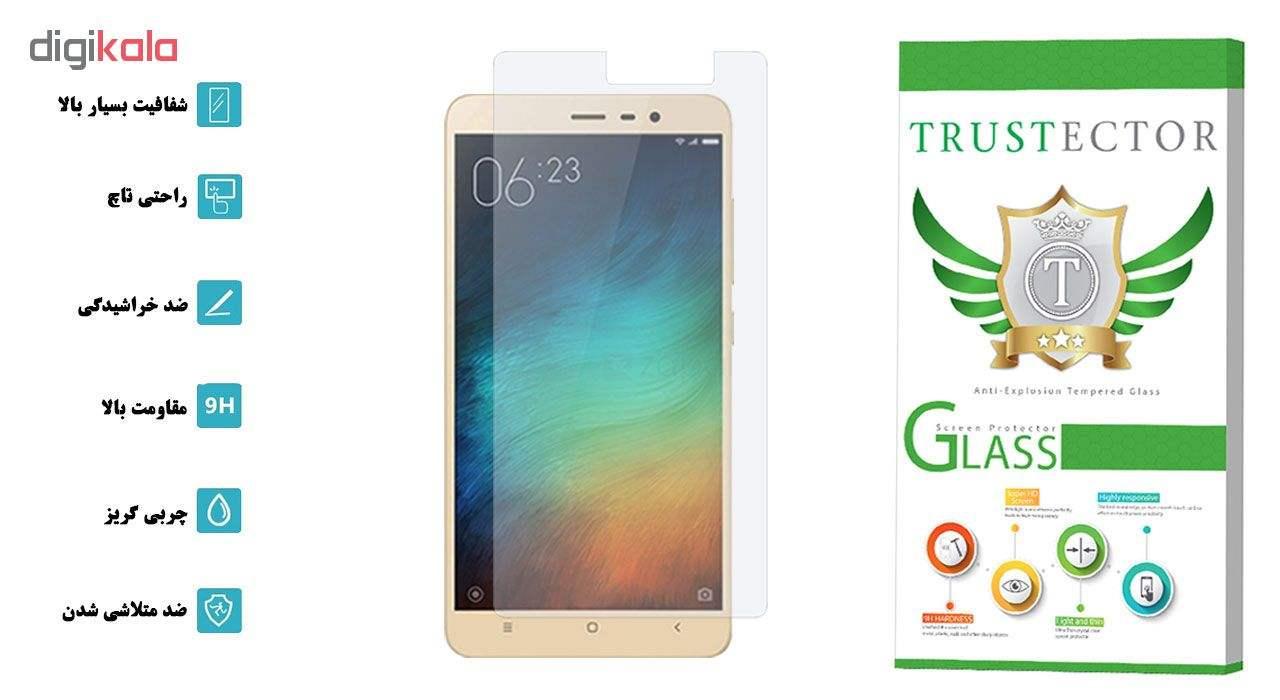 محافظ صفحه نمایش تراستکتور مدل GLS مناسب برای گوشی موبایل شیائومی Redmi Note 3 main 1 2