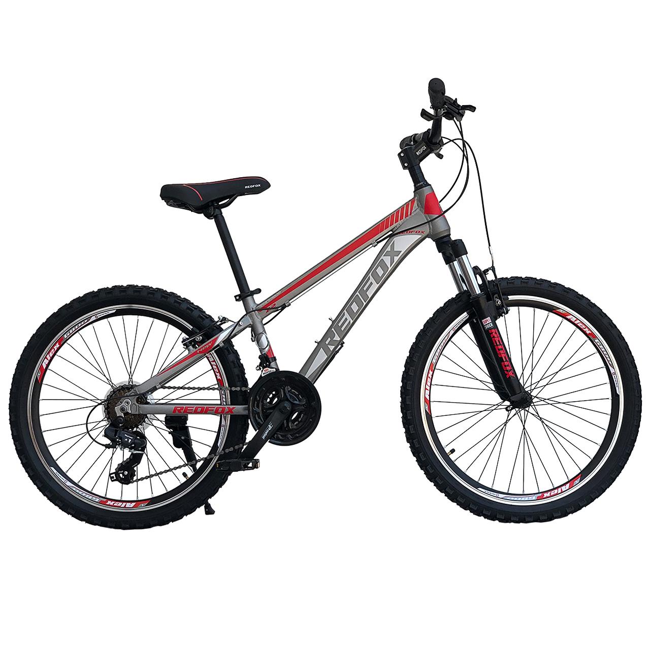 دوچرخه کوهستان ردفوکس مدل Z4 سایز 24