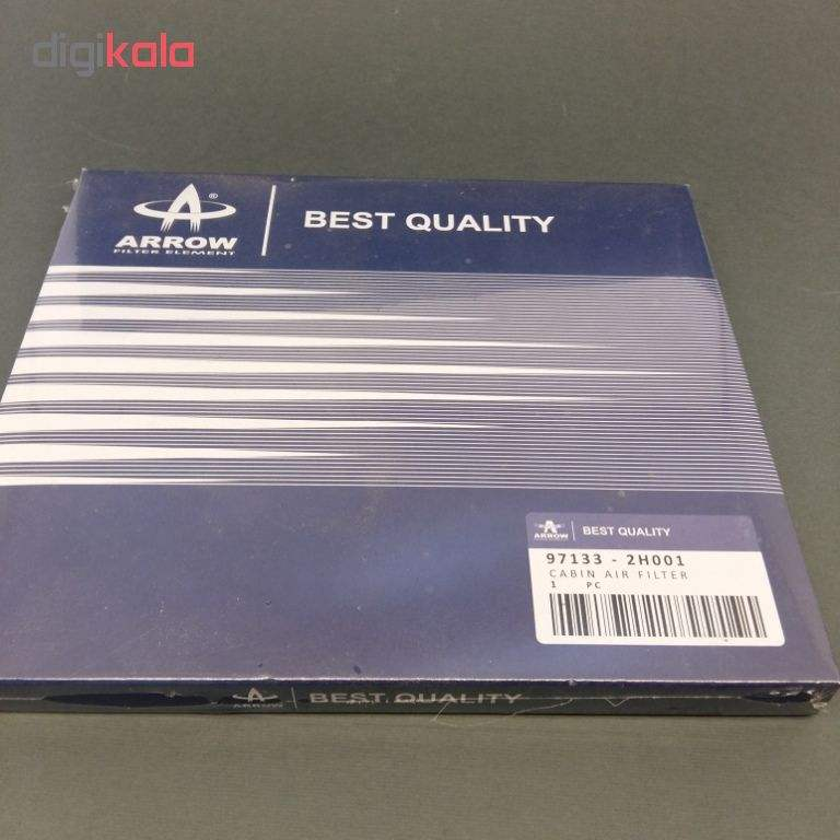 فیلتر کابین خودرو آرو مدل 2H001 مناسب برای هیوندای توسان 2016 و النترا 2014 و سراتو 2013 main 1 2