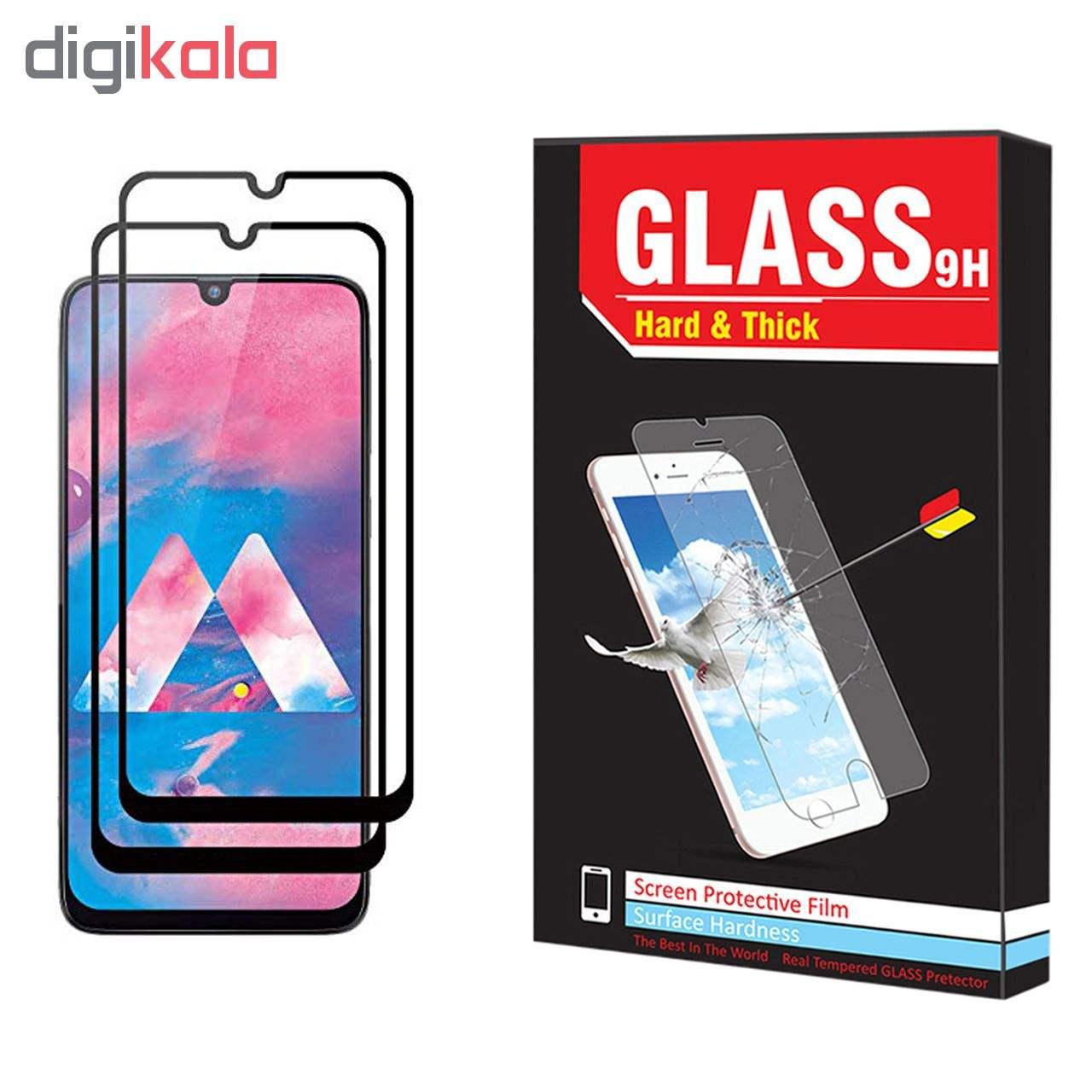 محافظ صفحه نمایش hard and thick مدل F-001 مناسب برای گوشی موبایل سامسونگ Galaxy M30 بسته دو عددی main 1 1