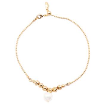 دستبند زنانه ژوپینگ مدل Single Pearl کد 206121