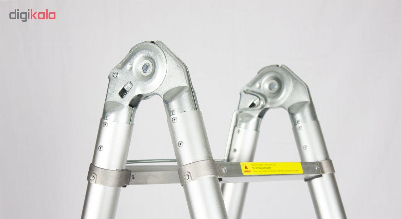 نردبان 10 پله مدل A53 Telescopic Multi Purpose