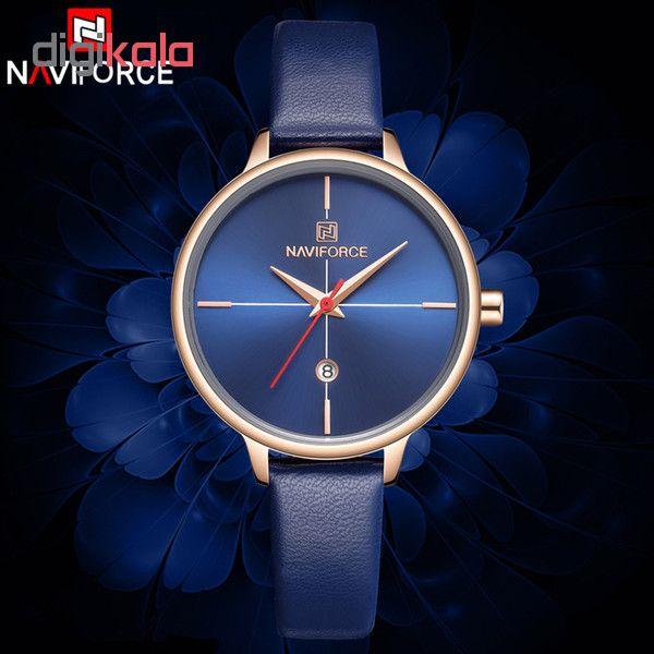 ساعت مچی عقربه ای زنانه نیوی فورس مدل NF5006/BLU              ارزان