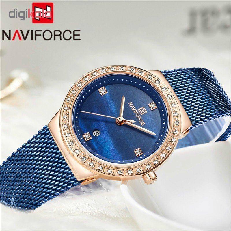 ساعت مچی عقربه ای زنانه نیوی فورس مدل NF5005/RGBE