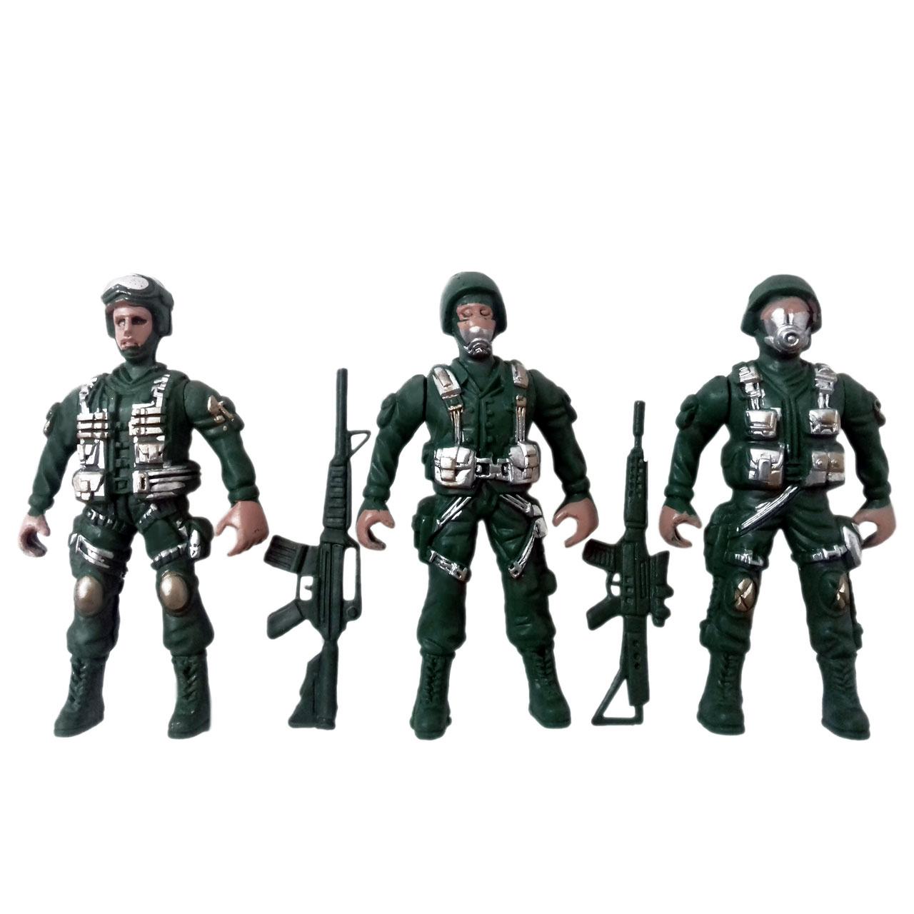 خرید                     ست اسباب بازی سرباز جنگی مدل sol