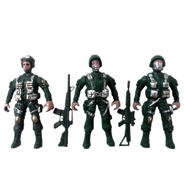 ست اسباب بازی سرباز جنگی مدل sol