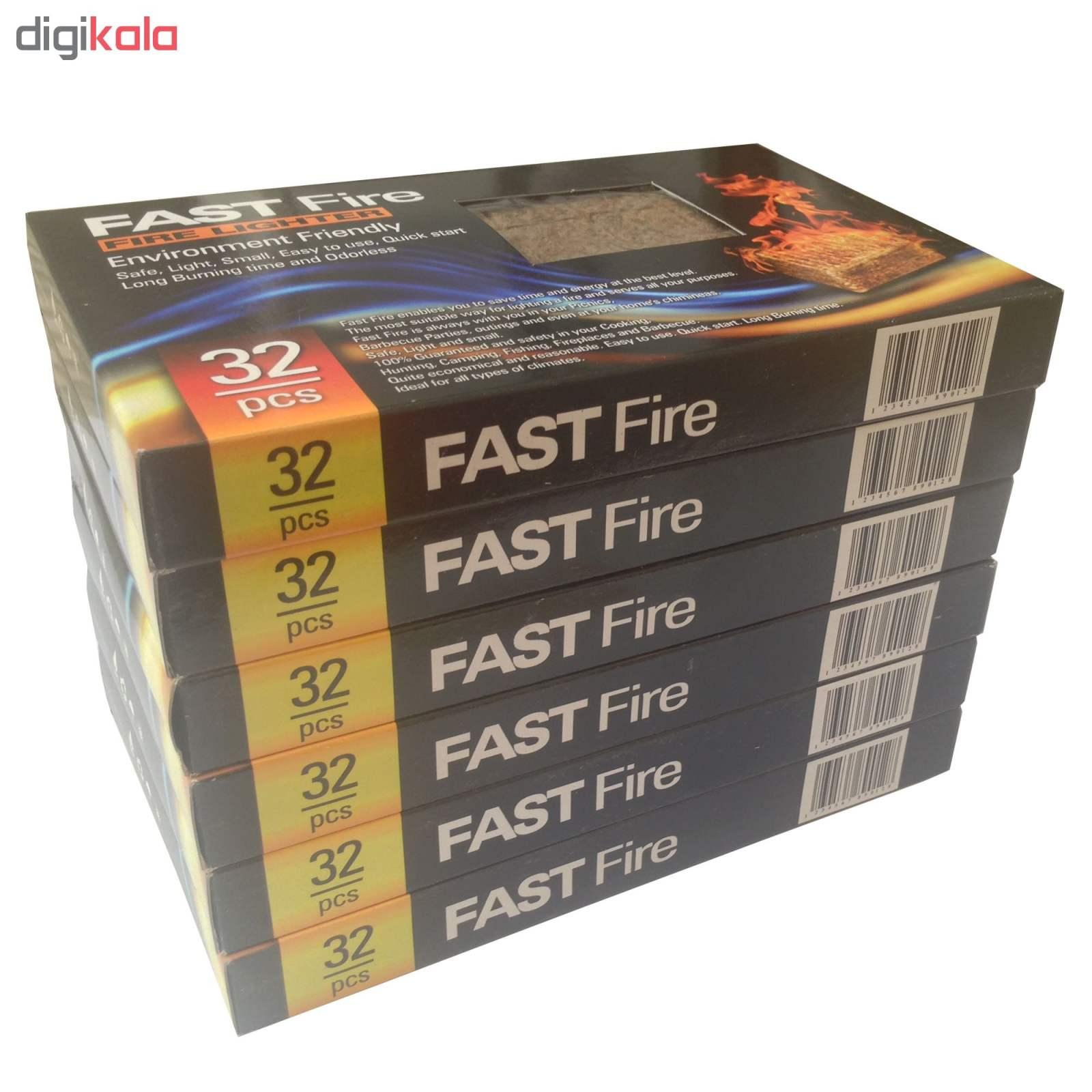 آتش زنه فست فایر مدل p2 مجموعه 6 عددی main 1 2