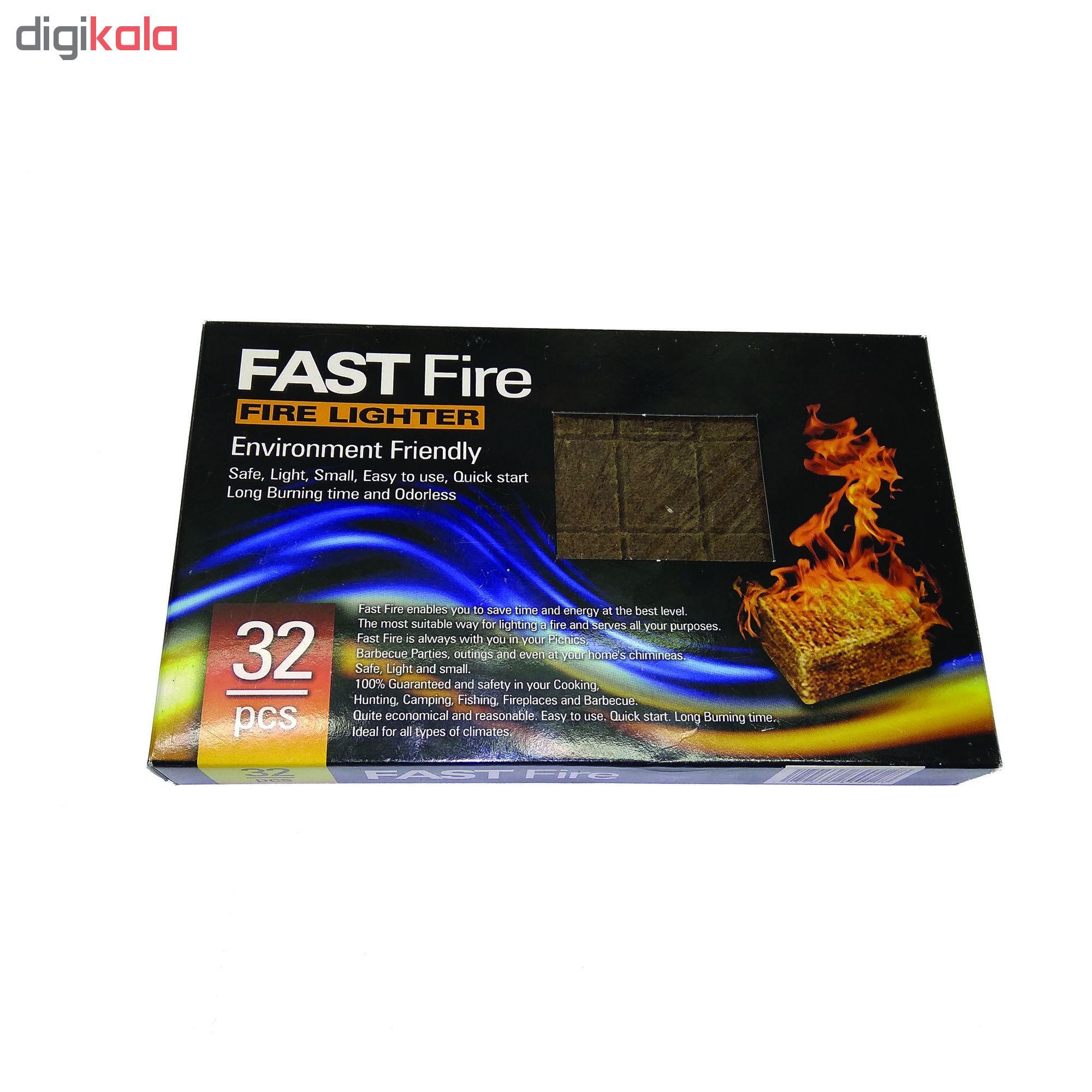 آتش زنه فست فایر مدل p2 مجموعه 6 عددی