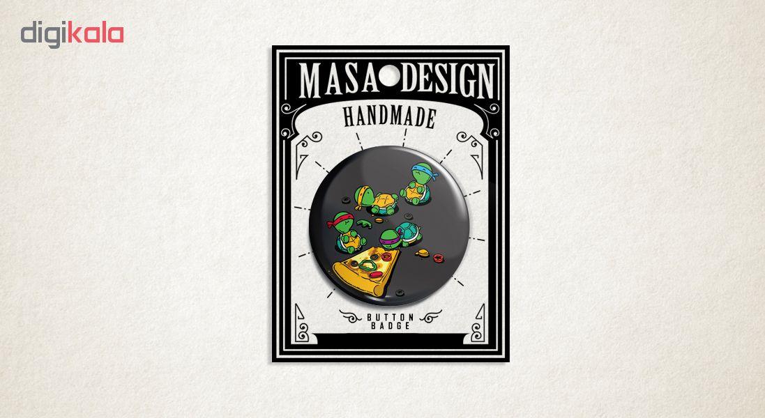 پیکسل ماسا دیزاین طرح لاک پشت های نینجا کد ASF77