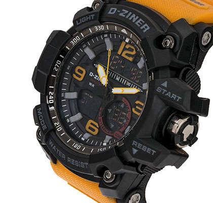 ساعت مچی عقربه ای مردانه دیزاینر مدل D-Z7015 2
