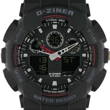 ساعت مچی عقربه ای مردانه دیزاینر مدل D-Z7003 2