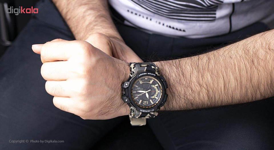 ساعت مچی عقربه ای مردانه دیزاینر مدل D-Z7044 3