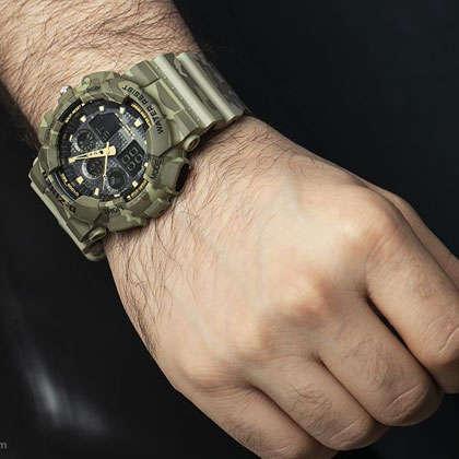 ساعت مچی عقربه ای مردانه دیزاینر مدل D-Z7029 2