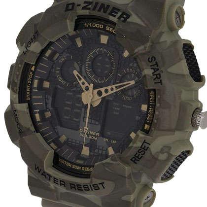 ساعت مچی عقربه ای مردانه دیزاینر مدل D-Z7029 3