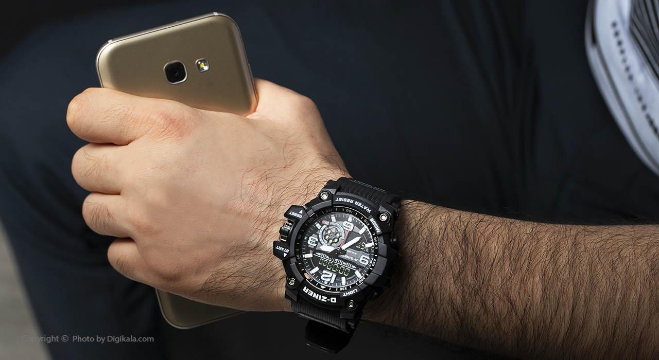 ساعت مچی عقربه ای مردانه دیزاینر مدل D-Z7055 2