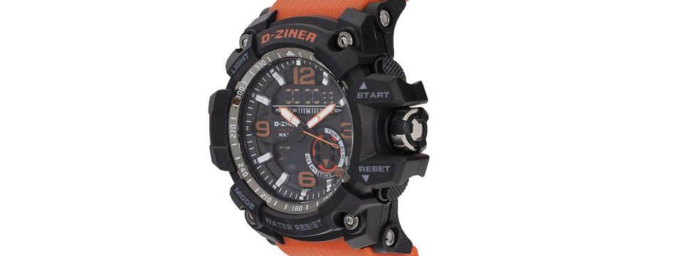 ساعت مچی عقربه ای مردانه دیزاینر مدل D-Z7006 4