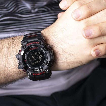 ساعت مچی دیجیتال مردانه دیزاینر مدل D-Z7042 3