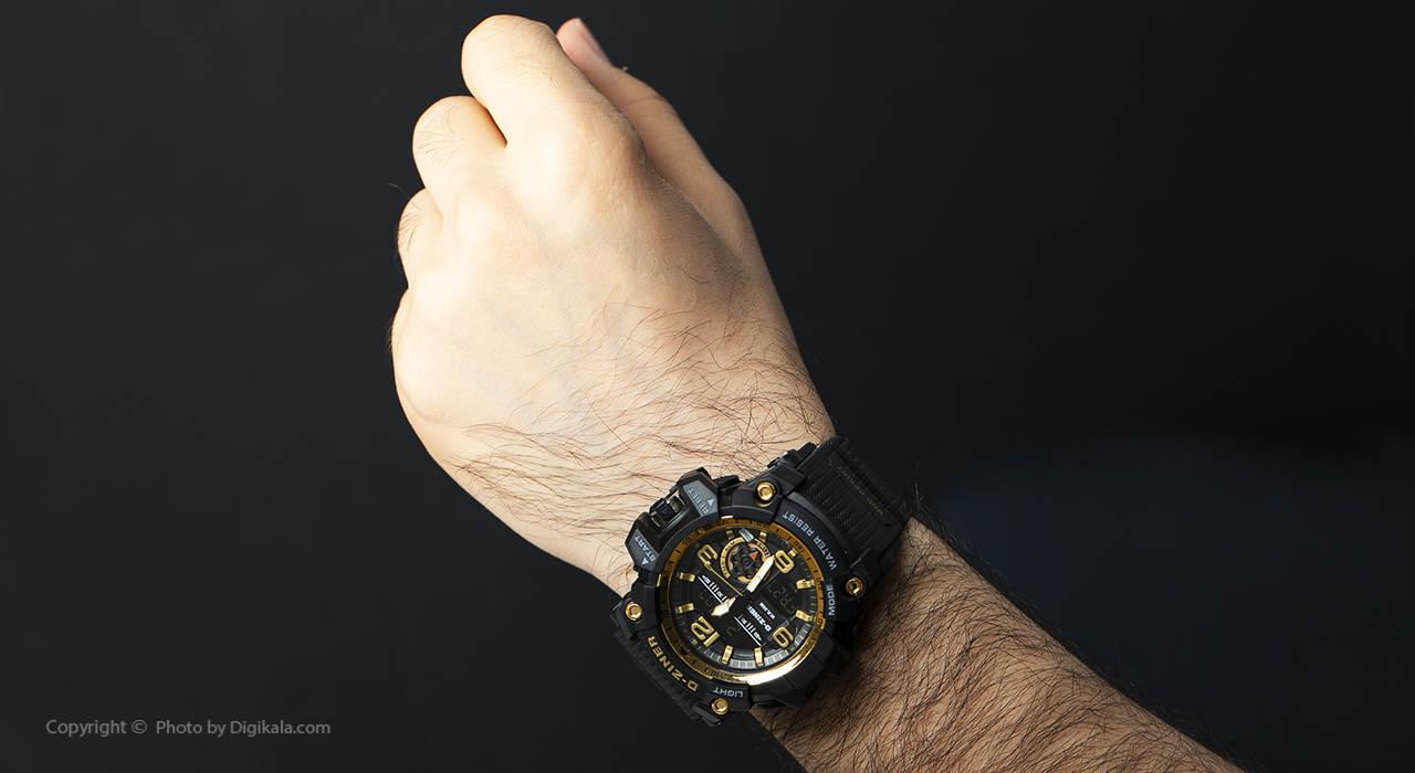 ساعت مچی عقربه ای مردانه دیزاینر مدل D-Z7040 2