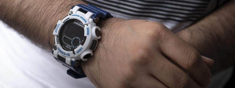ساعت مچی دیجیتال مردانه دیزاینر مدل D-Z7035 3