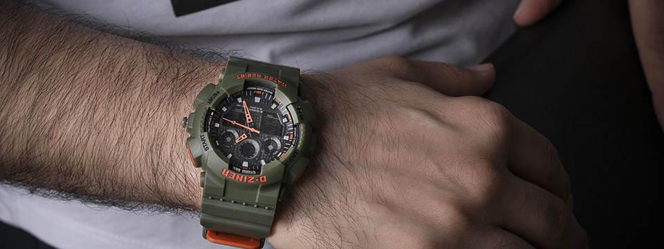 ساعت مچی عقربه ای مردانه دیزاینر مدل D-Z7034 3
