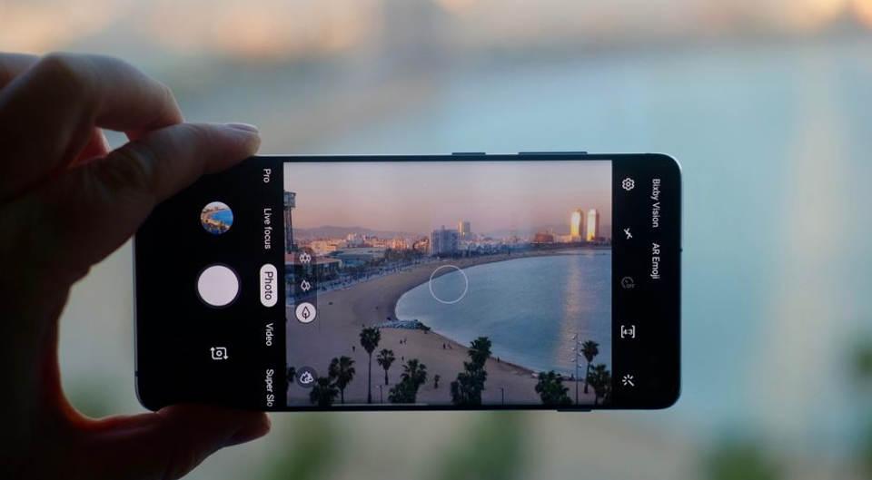 گوشی موبایل سامسونگ Samsung Galaxy S10 plus-128G